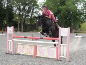 Competition Practicing at Sillaton Farm Stables